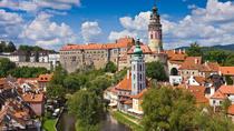 One-Way Transfer to Cesky Krumlov from Prague including a City Tour with Guide, Cesky Krumlov,...