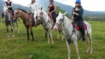 Horse Back Riding,Waterfall hike and Rafting class II & III From La Fortuna-Arenal, La Fortuna, ...