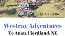 Westray Adventures - Quad Bikes, Te Anau, 4WD, ATV & Off-Road Tours