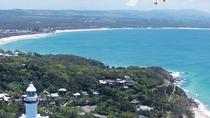 Byron Bay Gyrocopter Flight plus Cape Bryon Lighthouse Crystal Castle and Bangalow Tour, Byron Bay, ...