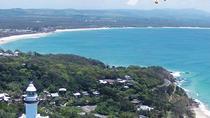 Byron Bay Gyrocopter Flight plus Cape Byron Lighthouse Crystal Castle and Bangalow Tour, Byron Bay,...