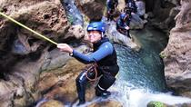 Guided Visit: Canyoning in Granada, Lentegi Canyon, Granada, Climbing