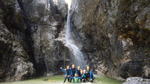 Canyoning in Fratarica Canyon, Bovec, Climbing