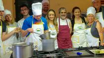 Small group Tuscan cooking class in a castle with optional transfer from Florence, Florence,...