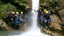 Canyoning in the Susec Canyon of the Soca valley , Bovec, Adrenaline & Extreme
