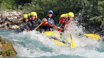 Rafting on Soca River, Bovec, White Water Rafting
