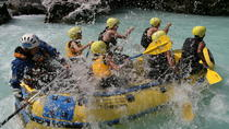 Soca River Active Package: Rafting and Canyoning, Bovec, White Water Rafting