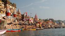 Private Full-Day Varanasi Cultural Tour with Ganges Evening Boat Ride, バラナシ(ワーラーナシー)