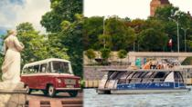 Best of Warsaw in Retro Nysa Van and Luxury Boat, Warsaw, Bus & Minivan Tours