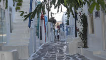 Walking Tour in Mykonos Town, ミコノス島