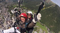 Acrobatic Paragliding Tandem Flight !, Chamonix, Paragliding