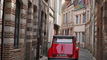 Unique Tour of Lille by Convertible 2CV with Private Driver-Guide including Champagne Break, Lille