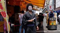 Tsukiji Fish Market Tour in Kabuki Makeup, Tokyo, Walking Tours