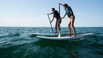 Stand-up-paddle on Laguna of Thau, Sete, Montpellier