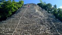Coba Ruins and Punta Laguna Monkey Reserve Day Tour from Tulum, Tulum, Day Trips