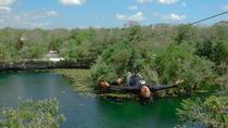 Tulum 4 Jungle Cenotes, snorkel, zip line, canoe with a Mayan Village Meal, Tulum, Snorkeling