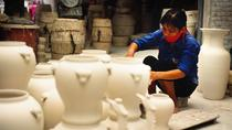Bat Trang Pottery ancien village en moto, Hanoi, Bike & Mountain Bike Tours