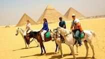 Desert safari at Giza Pyramids with Quad Bike and horse riding during sunset, Giza, City Tours