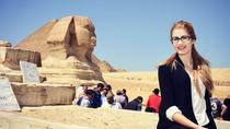 Full-Day Tour from Cairo: Giza Pyramids Sphinx Memphis and Saqqara, Cairo, null