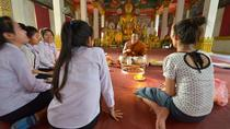 Wat Sok Pa Luang Temple Experience Including Traditional Sauna from Vientiane, Vientiane