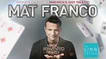 Mat Franco Magic Reinvented Nightly au LINQ Hotel and Casino, Las Vegas, Théâtre, ...