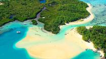 Full-Day Catamaran Cruise in Mauritius: Ile aux Cerfs, GRSE Waterfall and Snorkeling in Eau Bleue, ...