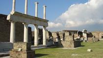 Pompeii and Vesuvius from Amalfi, Positano, Praiano, Ravello, Maiori or Minori, Amalfi Coast, Day...