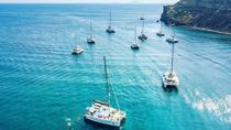 Half-Day Catamaran Cruise of Santorini with BBQ and Drinks, Santorini, Sailing Trips