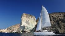 Private Catamaran Sailing in Santorini with BBQ Meal and Drinks, Santorini, Day Cruises