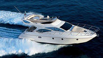 Private Motor Yacht Cruise in Santorini with BBQ and Drinks, Santorini, Sailing Trips
