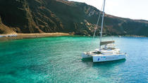 Sailing Cruise in Santorini to Red Beach and Akrotini with BBQ and Drinks, Santorini, Day Cruises