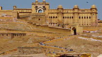 Full-Day Jaipur Tour visit Amber Fort and City Palace Including Lunch, Jaipur, Cultural Tours