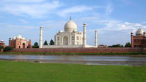 Private Full-Day Sunrise and Sunset Tour at the Taj Mahal and Agra Fort from Agra, Agra, Private...