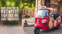 Budapest Tuk Tuk Private Tour with Goulash Soup at Restaurant 21 in Buda Castle, Budapest, Cultural...