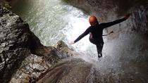 SUMMERRAIN Canyoning Tour from Lake Garda, Lake Garda, Climbing