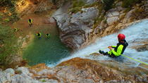 VIONE Canyoning Tour from Lake Garda, Lake Garda, Climbing
