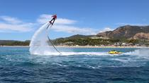 From Cagliari: 5-Hour Amazing Flyboard and Hidden Beaches Shore Excursion, Cagliari, Flyboarding
