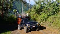Dota's Red Wine Waterfalls Hiking and 4x4 Tour, San Jose, 4WD, ATV & Off-Road Tours