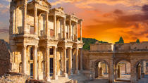 Kusadasi Port to Priene, Stone Houses of Doganbey Village and Ephesus with Lunch in Karine, ...