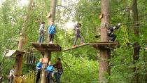 Adventures in Park Aventura in Brasov
