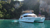 7-Hour Phi Phi and Maiton Islands van Power Catamaran with Lunch, Phuket, Catamaran Cruises