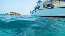 VIP Dinner and Dolphins Power Catamaran Sail to Racha and Mai Ton Islands from Phuket, Phuket,...