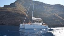 Caldera Catamaran Gold 'Day Cruise', Santorini, Private Sightseeing Tours