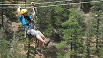 Woods Course Zipline Tour, Colorado Springs, 4WD, ATV & Off-Road Tours