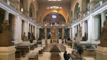 Cairo Private Day Tour: Egyptian Museum, Citadel, and Khan al-Khalil Bazaar with Lunch on Nile...