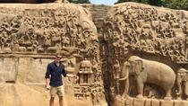 Day Trip to Mahabalipuram on Royal Enfield Motorcycle or By Private Car, Chennai, Private ...