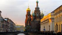 Sightseeing Tour with a tour to Peter and Paul Fortress and Spilled Blood Church, St Petersburg,...