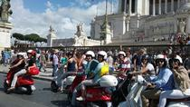 Panoramic Tour of Roma with Vespa and Lunch, Rome, Private Sightseeing Tours