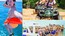 Full day package:Atv 4x4 Adv: River Cave : Catamaran and Snorkeling from Punta Cana, Punta Cana,...