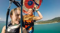Two Great Adventures: Parasail Experience and Shopping Tour from Punta Cana, Punta Cana, Parasailing